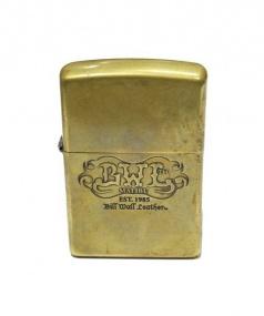 BILL WALL LEATHER(ビルウォールレザー)の古着「ZIPPO」 ゴールド