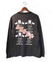 MR.COMPLETELY(ミスターコンプリートリー)の古着「長袖Tシャツ」|ブラック