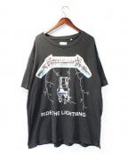 FOG(フィアオブゴッド)の古着「メタリカTシャツ」 ブラック