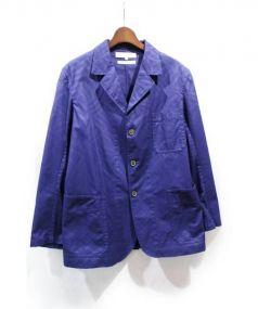 COMME des GARCONS SHIRT(コムデギャルソンシャツ)の古着「テーラードジャケット」|ブルー