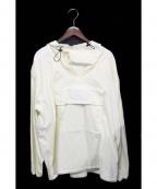 LIAM HODGES(リアムホッジス)の古着「プルオーバーパーカー」|アイボリー