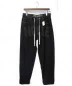 LIAM HODGES(リアムホッジス)の古着「18SS デニムパンツ」|ブラック