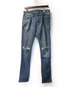 SUB-AGE.(サベージ)の古着「デニムパンツ」|インディゴ