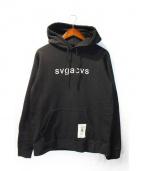 SVG NEIGHBORHOOD(エスブイジー ネイバーフッド)の古着「パーカー」|ブラック