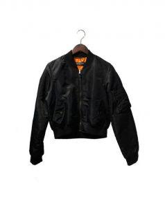 BALENCIAGA(バレンシアガ)の古着「MA-1ジャケット」|ブラック