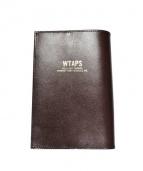 WTAPS×PORTER(ダブル タップス×ポーター)の古着「ブックカバー」|ブラウン