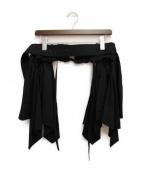 CRAIG GREEN(クレイグ グリーン)の古着「ベルトスカート」|ブラック