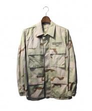 FPAR(フォーティーパーセントアゲインストライツ)の古着「ミリタリージャケット」|カーキ
