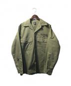 FPAR(フォーティーパーセンツ アゲインストライツ)の古着「ミリタリージャケット」 オリーブ