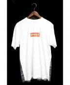 Supreme×COMME des GARCONS SHIRT(シュプリーム × コムデギャルソンシャツ)の古着「BOXロゴTシャツ」 ホワイト