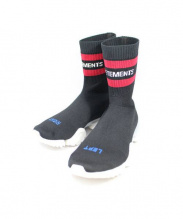 VETEMENTS x Reebok(ヴェトモン x リーボック)の古着「Sock Runner Ultraknit 」|ブラック