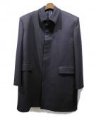 BALENCIAGA(バレンシアガ)の古着「ステンカラーコート」|ネイビー