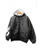 SUPREME(シュプリーム)の古着「Sleeve Script Sideline Jacket」|ブラック