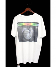 OFFWHITE(オフホワイト)の古着「Printed cotton-jersey T-shirt」|ホワイト