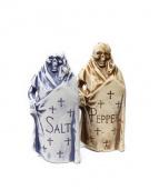 NEIGHBORHOOD(ネイバーフッド)の古着「SALT&PEPPER」|ブルーxブラウン