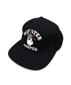 A BATHING APE x MONSTER HUNTER(ア ベイシング エイプ x モンスターハンター)の古着「SNAP BACK CAP」|ブラック