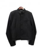 Saint Laurent Paris(サンローラン パリ)の古着「スタンドカラージャケット」|ブラック