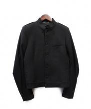 Saint Laurent Paris(サンローラン パリ)の古着「スタンドカラージャケット」 ブラック