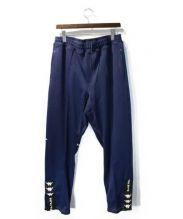 Kappa x A FOUR LABS(カッパ x エーフォーラブ)の古着「18SS Knit Pants」|ネイビー