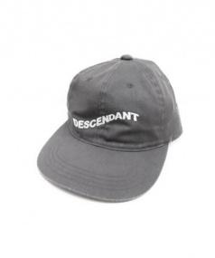 DESCENDANT x Ron Herman(ディセンダント x ロンハーマン)の古着「6パネルキャップ」|グレー