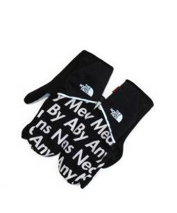 Supreme × THE NORTH FACE(シュプリーム × ザノースフェイス)の古着「15AW Winter Runners Glove」 ブラック
