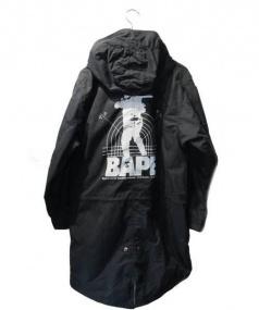 A BATHING APE(ア ベイシング エイプ)の古着「モッズコート」|ブラック