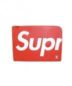 SUPREME × LOUIS VUITTON(シュプリーム × ルイヴィトン)の古着「クラッチバッグ」|レッド
