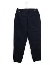BOTTEGA VENETA(ボッテガベネタ)の古着「ウォッシュ加工パンツ」|ネイビー