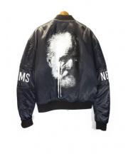 NEWAMS(ニューアムス)の古着「MA-1ジャケット」|ネイビー