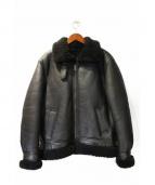 NAISSANCE(ネサーンス)の古着「ムートンジャケット」|ブラック