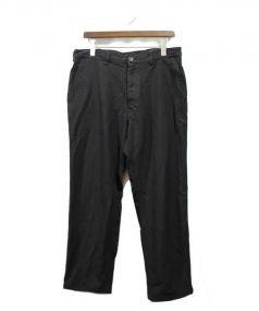 COMME des GARCONS HOMME(コムデギャルソン オム)の古着「ストレートパンツ」|ブラック