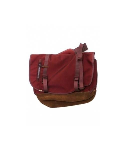 VISVIM(ヴィスヴィム)VISVIM (ビズビム) メッセンジャーバッグ エンジの古着・服飾アイテム