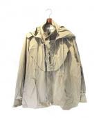 FACETASM(ファセッタズム)の古着「18SS MILITARY JACKET」|ベージュ