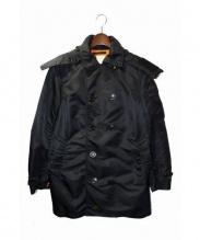 WTAPS(ダブルタップス)の古着「14AW TRANCH COAT」 ブラック