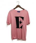 GUCCI(グッチ)の古着「ロゴTシャツ」|ピンク