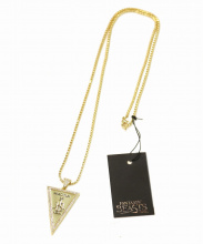 Fantastic Beasts xKing Ice(ファンタスティック ビースト×キングアイス)の古着「MACUSA Triangle Necklace/ネックレス」 ゴールド