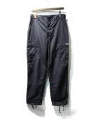 FPAR(フォーティーパーセンツ アゲインストライツ)の古着「カーゴパンツ」 ブラック