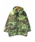FPAR(フォーティーパーセンツ アゲインストライツ)の古着「キルティングコート」 カーキ