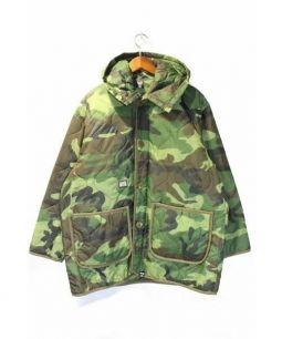 FPAR(フォーティーパーセントアゲインストライツ)の古着「キルティングコート」|カーキ