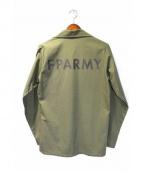 FPAR(フォーティーパーセントアゲインストライツ)の古着「ミリタリーシャツ」 カーキ