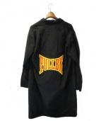 FULL-BK(フルビーケー)の古着「バックプリントコート」|ブラック