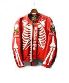 SUPREME(シュプリーム)の古着「Vanson Leather Star Jacket」|レッド