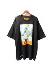 HERON PRESTON(ヘロン プレストン)の古着「18SS Herons Jersey T-Shirt」|ブラック
