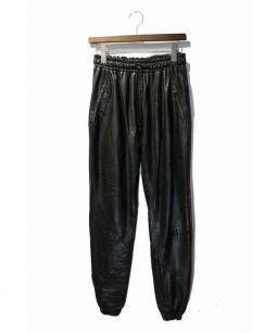 EN NOIR(アン ノアール)の古着「レザーパンツ」|ブラック