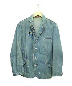 KAPITAL(キャピタル)の古着「デニムテーラードジャケット」 インディゴ