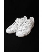 Dior Homme(ディオールオム)の古着「アトリエロゴスニーカー/B01」|ホワイト