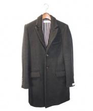 RUDE GALLERY(ルードギャラリー)の古着「15AW チェスターコート」 ブラック