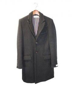 RUDE GALLERY(ルードギャラリー)の古着「15AW チェスターコート」|ブラック