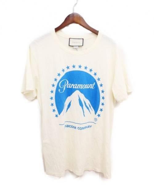 sale retailer b9bf8 d70d8 [中古]GUCCI(グッチ)のメンズ トップス 18AW/パラマウントTシャツ