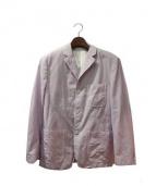 COMME des GARCONS HOMME(コムデギャルソンオム)の古着「グレンチェックジャケット」|パープル